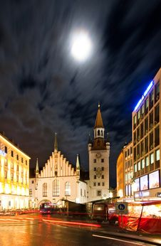 Free Old City Hall In Munich Royalty Free Stock Photos - 18048018