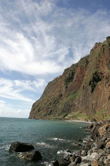 Cliffs Of Madeira Royalty Free Stock Photography