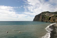 Free Cliffs Of Madeira Royalty Free Stock Photo - 18048115