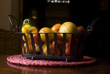 Free Vegetable Basket Assortment Royalty Free Stock Images - 18049099
