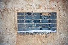 Free Textures Old Wall, Broken Window Stock Photos - 18049173