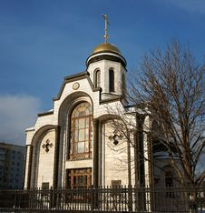 Chapel In Russia Stock Images