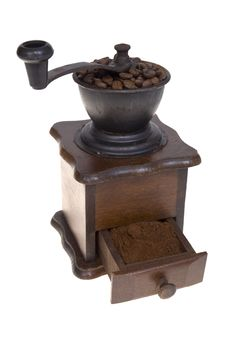 Free Grinder To Coffee Stock Photography - 18051962