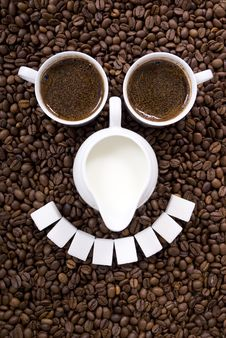 Free Coffee Royalty Free Stock Photography - 18052037