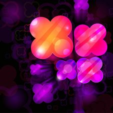 Free 3d Bright Abstract Background Royalty Free Stock Images - 18052439