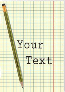 Free Pencil Stock Photo - 18052820