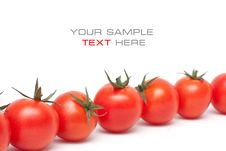 Free Ripe Red Cherry Tomatoes Stock Photography - 18053242
