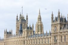 Free Houses Of Parliament Royalty Free Stock Image - 18053486