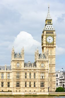 Free Houses Of Parliament Royalty Free Stock Photography - 18053487