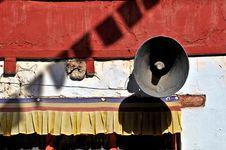 Free Monastery Megaphone Stock Image - 18053661