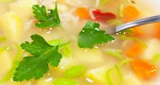 Free Fresh Soup Stock Images - 18053754