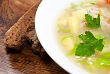 Free Fresh Soup Royalty Free Stock Images - 18053759