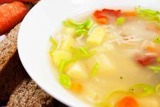 Free Fresh Soup Royalty Free Stock Image - 18053766