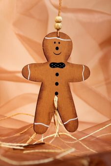 Free Gingerbread Man Stock Photos - 18053823