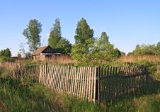 Free Old Wooden Fence Royalty Free Stock Photo - 18054855