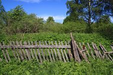 Free Old Wooden Fence Stock Photography - 18054922