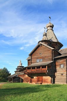 Free Aging Wooden Chapel Stock Photos - 18054943