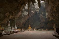 Free Image Of Buddha In The Cave. Royalty Free Stock Photos - 18055258