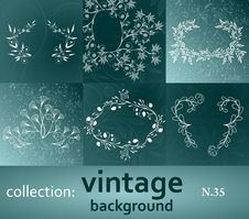 Free Collection Vintage Background Stock Images - 18055514