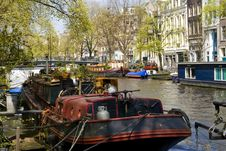 Free Holland Amsterdam Royalty Free Stock Photography - 18055537