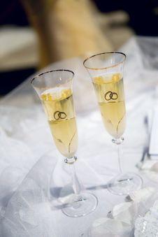 Free Wedding Glasses Stock Photo - 18055620