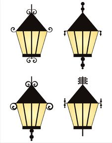 Free Stylish Lanterns Stock Photos - 18055753