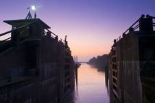 Free Sluice At Dawn Stock Photo - 18056160