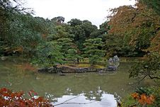 Free The Park Around Golden Pavilion Stock Photography - 18056432