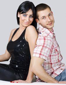 Free Happy Couple Royalty Free Stock Photo - 18056745