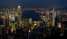 Free Hong Kong City Stock Photography - 18056792