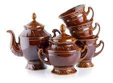 Free Tea Service(0).jpg Royalty Free Stock Photo - 18057225