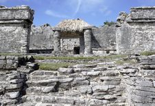 Ruins At Tulum Mexico 3 Stock Photography