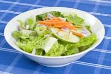 Free Bowl Of Salad Royalty Free Stock Image - 18057996