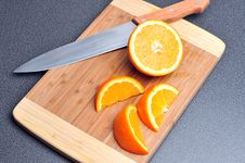 Free Sliced Orange Stock Images - 18058094