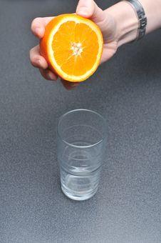 Free Orange Squeeze Stock Photos - 18058103