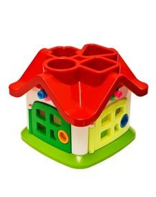 Free House For Toys On A White Background (isolated). Royalty Free Stock Image - 18058266