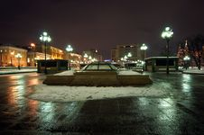 Free Manege Square Winter S Night, Moscow, Russia Stock Photo - 18058930