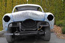 Free Rebuilding Classic Car Royalty Free Stock Image - 18059256