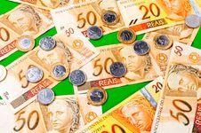 Free Brazilian Money Royalty Free Stock Images - 18059439