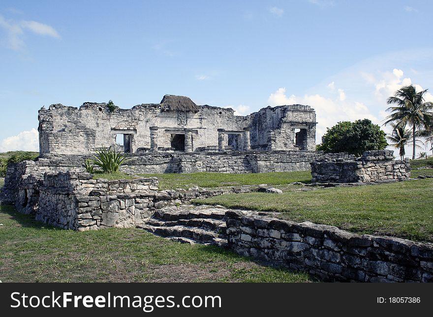 Ruins at Tulum Mexico 2