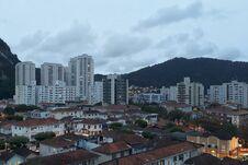 Santos, The Beautiful City In São Paulo Stock Image