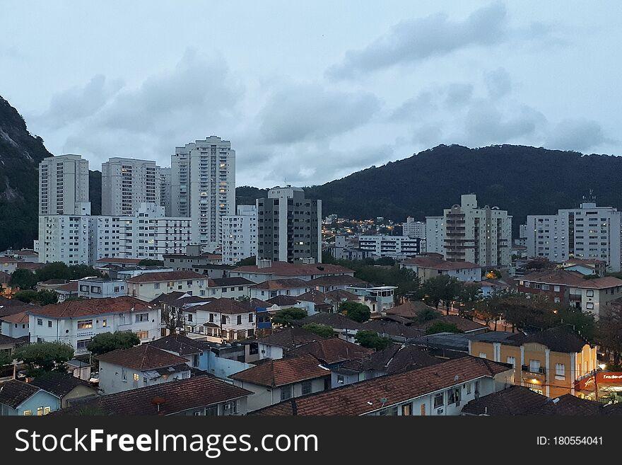 Santos, the beautiful city in São Paulo