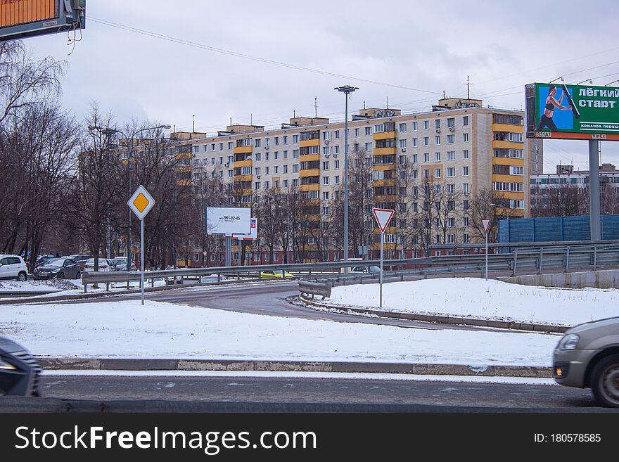 Sacco and Vanzetti Street of New Podlipki District to Korolyov City.