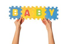 Free The Word Baby Stock Photos - 18060293