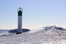 Free Beach Lighthouse Stock Photos - 18060313