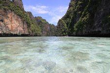 Maya Bay, Phiphi Island Stock Photography