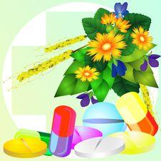 Free Natural Medicine Stock Image - 18061531