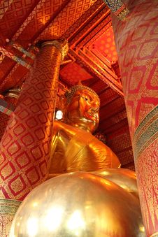 Free Siding Of Buddha Statue Royalty Free Stock Photo - 18062005