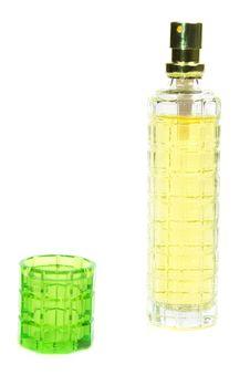 Free Yellow Perfume Bottle Stock Photo - 18062020