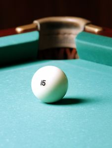Free Billiard Ball Royalty Free Stock Photography - 18062927